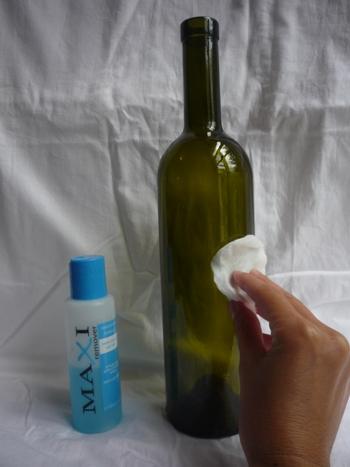 подготовка бутылки декупаж для мужчины