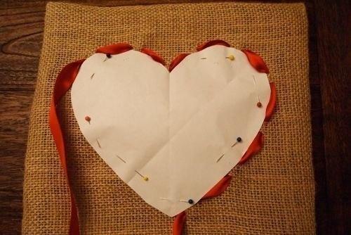 Подушка сердце своими руками мастер класс фото 73