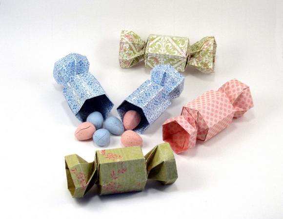 Поделки из бумаги конфета 78