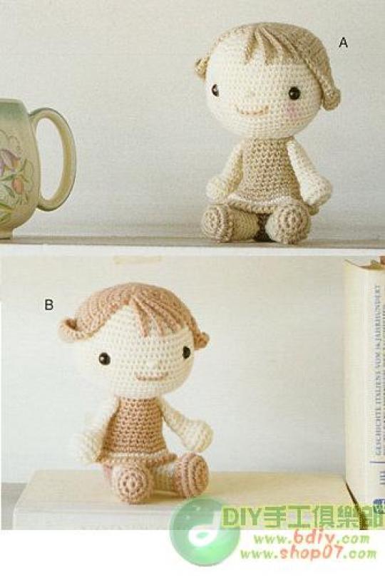 связать куклу схемы