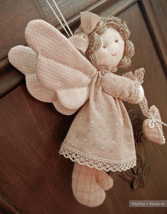 Мягкий ангелочек своими руками