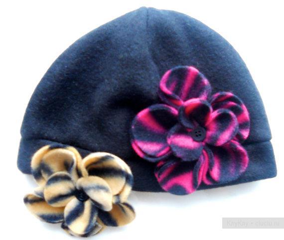 Цветки для шапочек своими руками 399