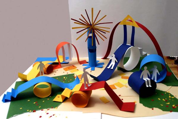 Поделки своими руками детская площадка
