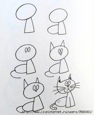 Обучающие схемы вязания на спицах для начинающих