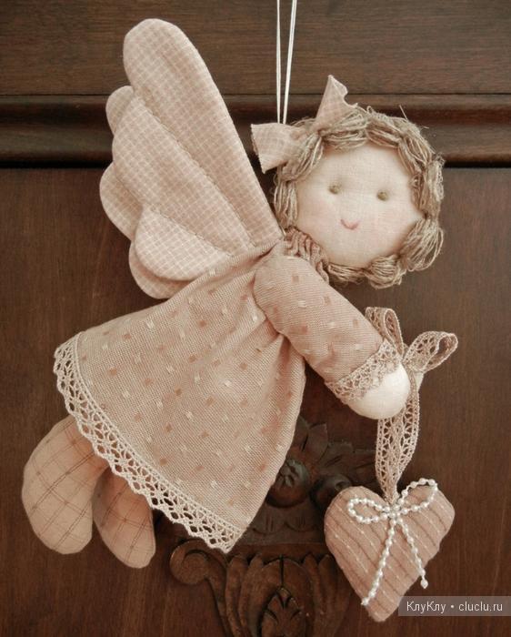 Сердечки иКак делать ангелочка своими руками