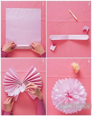 бумаги своими украшения руками из дома для