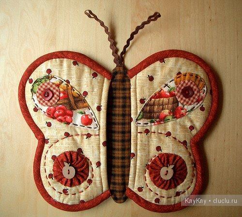 Прихватки для кухни, шитье из ткани - идеи для создания своими руками