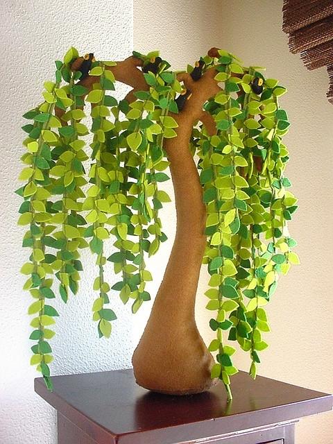 Фото поделки дерево