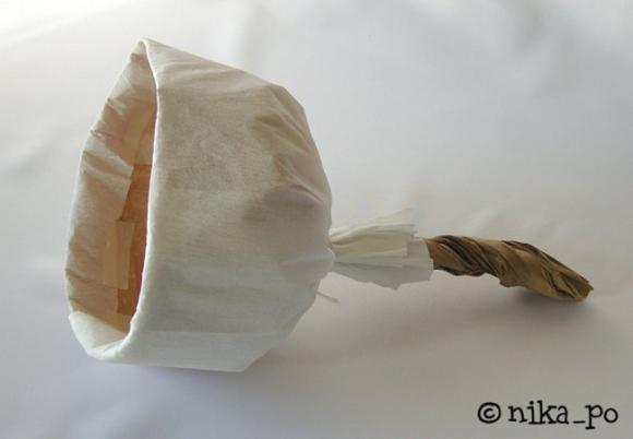 Как сделать из бумаги луковицу