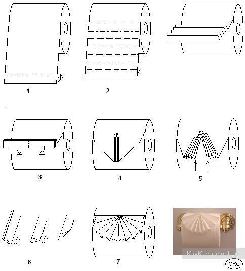 Оригами схемы гармошки