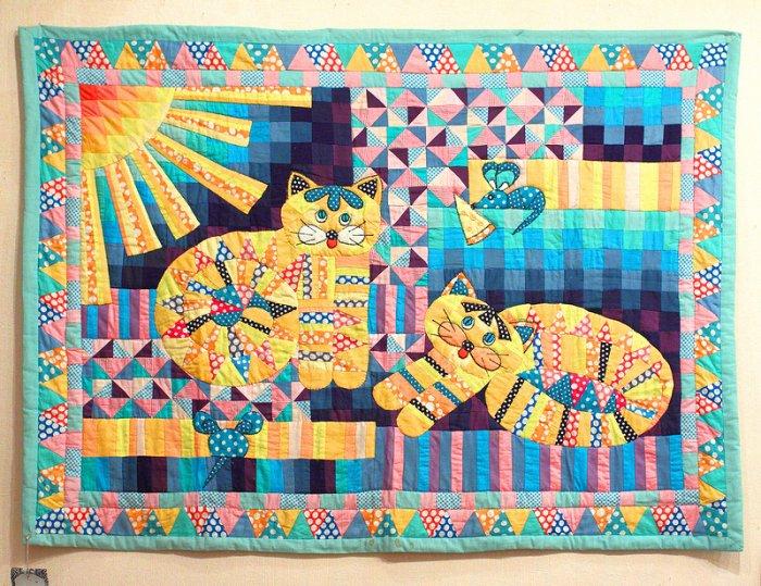Одеяла из лоскутков рисунки