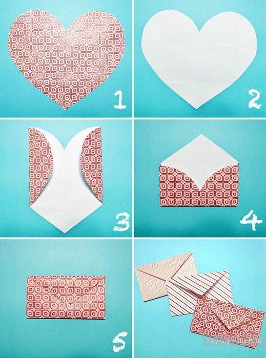 Как сделать красивую открытку из бумаги и