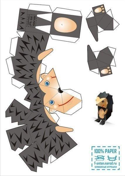 Как сделать фигурки из бумаги и клея - Isee2-plenka.ru