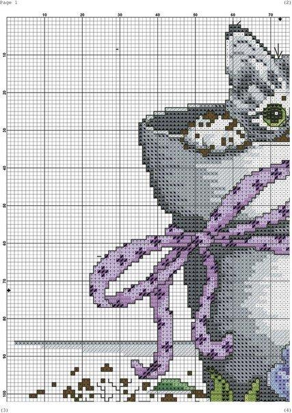Картинки вышивки схемы котята