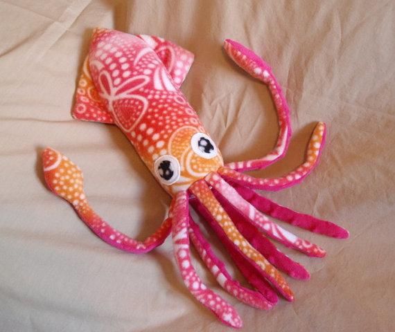 Мягкая игрушка своими руками осьминог 99