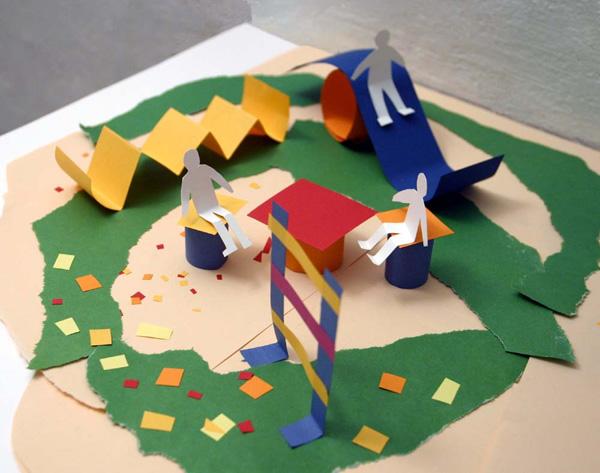Как сделать поделки детские из бумаги