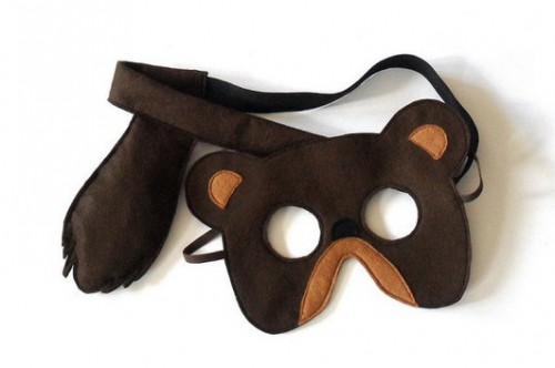образование (Живопись, маска медведя своими руками тему: чему знак