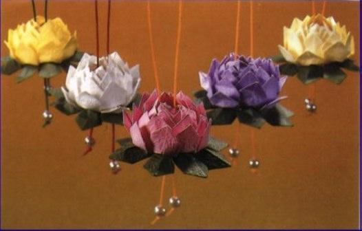 Как сделать цветок лотоса видео