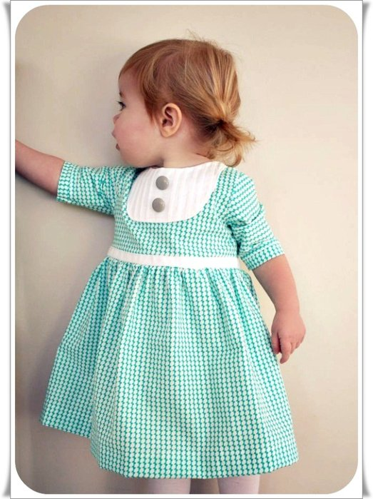 Из чего сшить ребенку платье 436