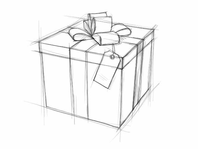 Как рисовать картинки на новый год поэтапно
