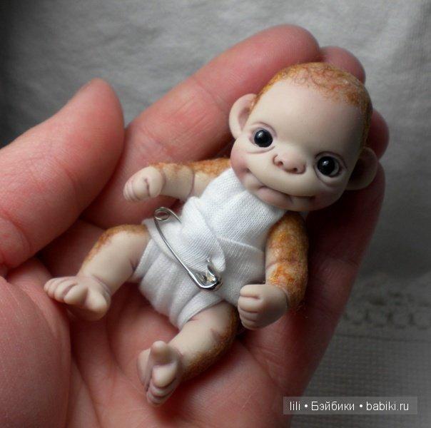 102Как сделать из полимерной глины куколку