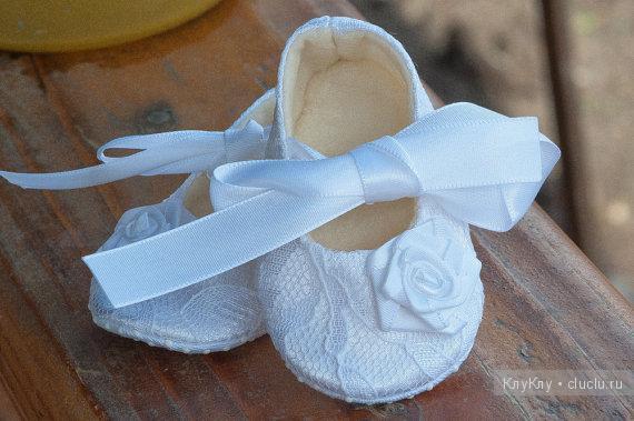 Сшить туфельки для малышки 84