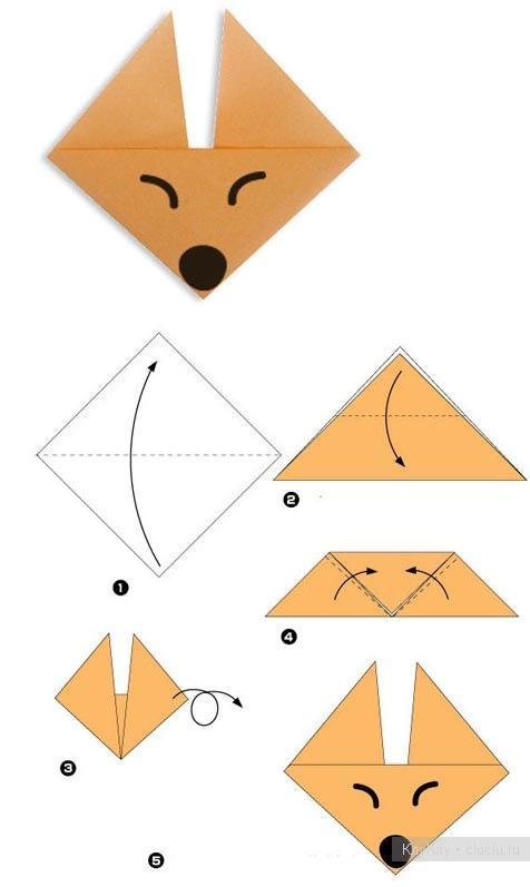 Несложные поделки из бумаги 74