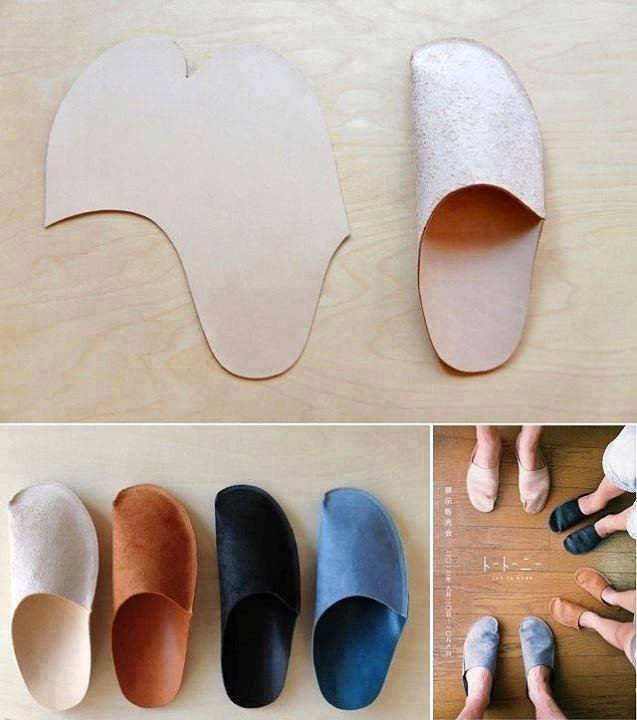 Пошив тапочек в домашних условиях