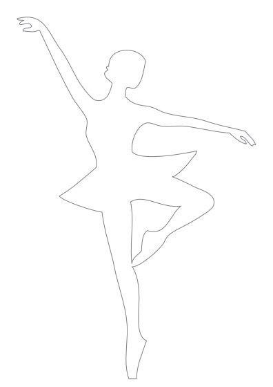Балеринки из бумаги своими руками схемы