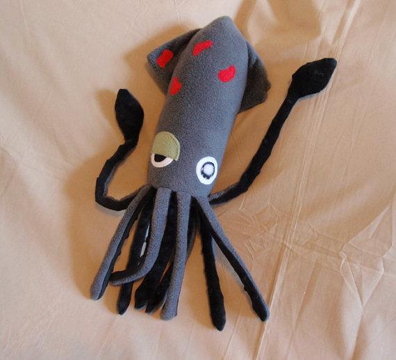 Мягкая игрушка своими руками осьминог 94