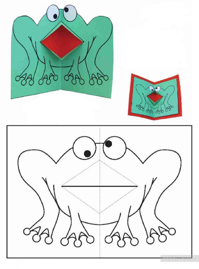 Как сделать двигающуюся картинку в открытке 98