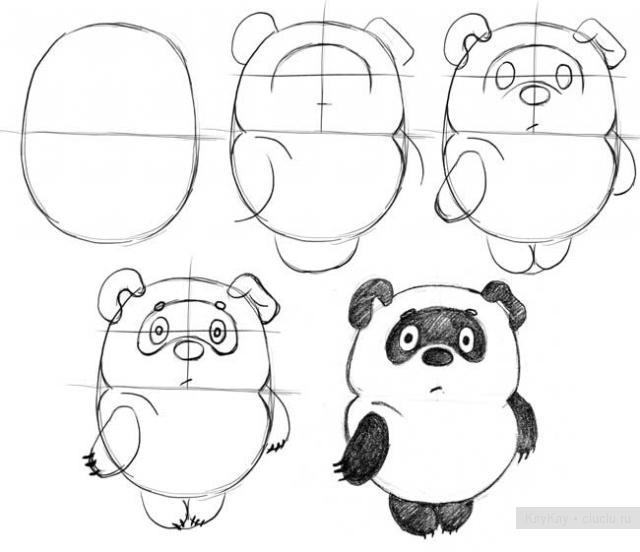 Уроки рисованием карандашом поэтапно