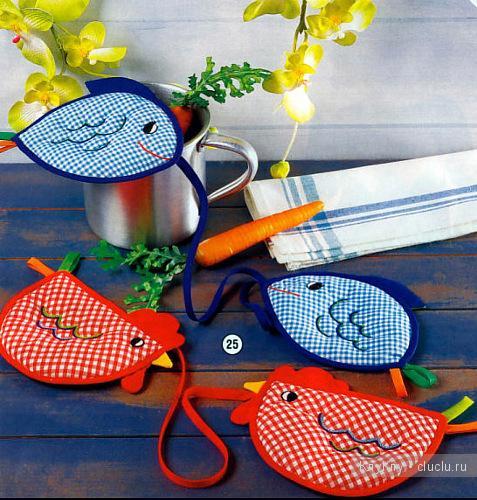 Как сделать прихватку для кухни своими руками