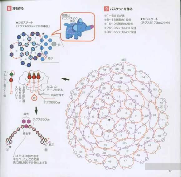 Схемы плетения объемного корабля из бисера