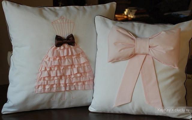 Декоративная подушка своими руками для мальчика