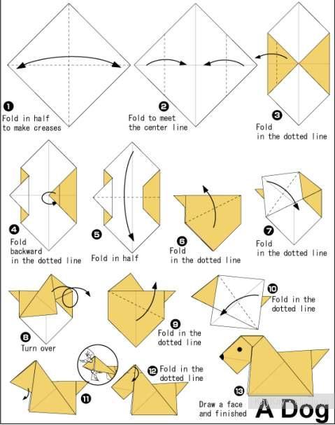Оригами по схеме