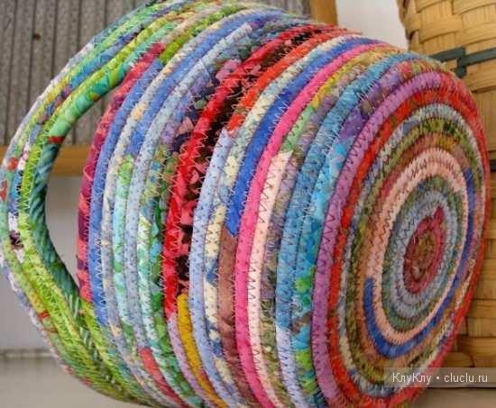 Поделки из лоскутков ткани к 8 марта