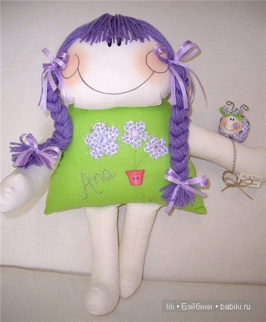 6310a4eb5 Авторские мягкие куколки Atelier Eu & Voce by Andrea Malheiros