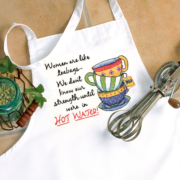 DMS-72-73547 Teacup Apron