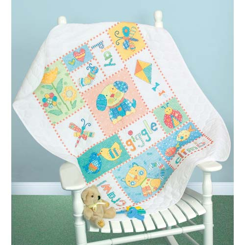 DMS-73473 Patchwork Baby Quilt