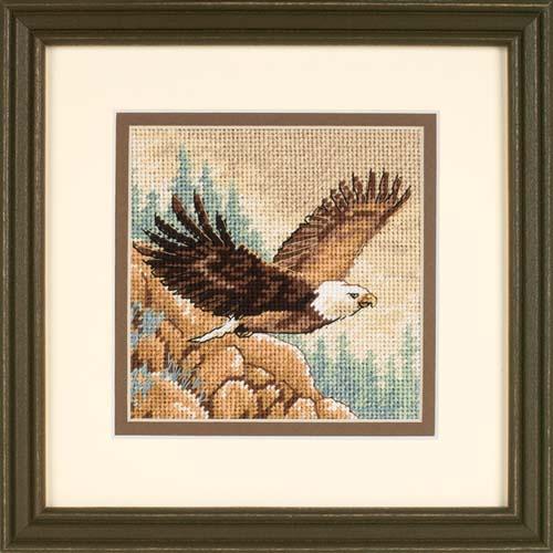 Вышивка схема орла от дименшенс