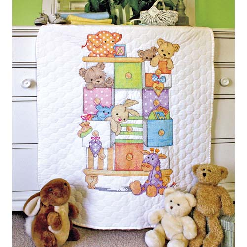 DMS-73537 Baby Drawers Quilt