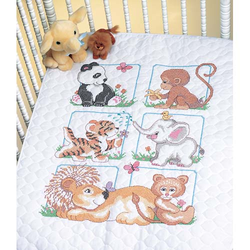 DMS-13083 Animal Babes Quilt