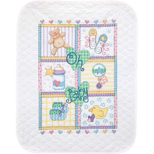 DMS-73103 Baby Squares Quilt