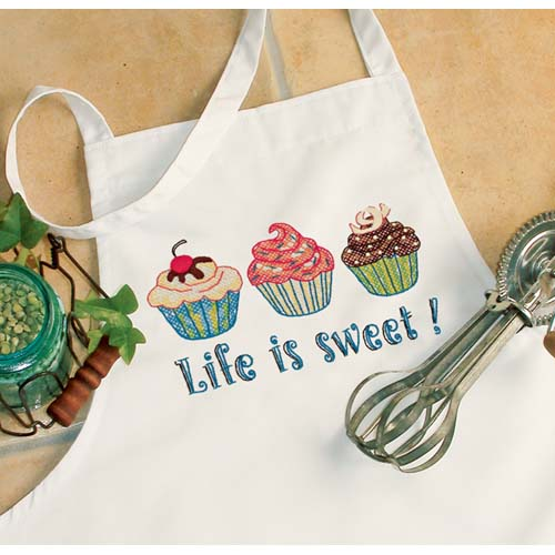 DMS-73516 Life is Sweet Apron