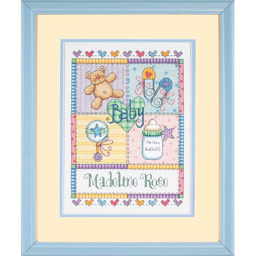 DMS-73104 Baby Squares Birth Record