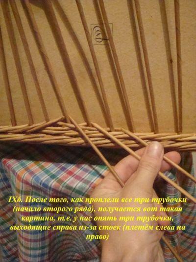 Плетение из газет с описанием