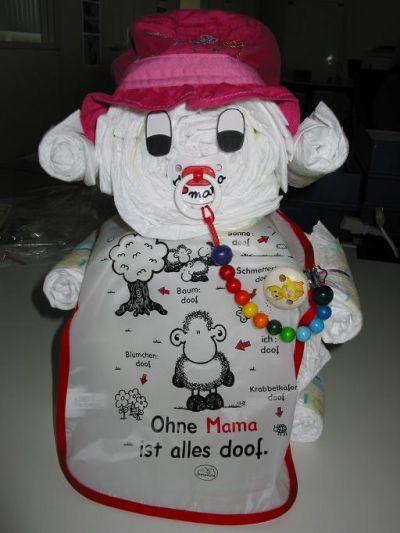 Медведь из памперсов своими руками 57