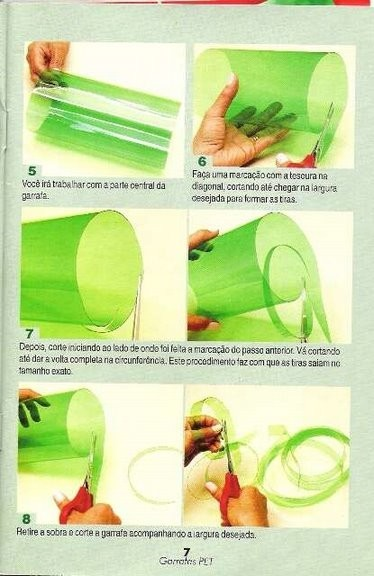Корзинка из пластиковых бутылок своими руками мастер класс