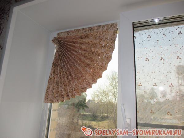 Как из обоев сделать жалюзи на окна своими руками